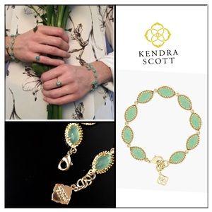 Kendra Scott Jana Mint Magnesite bracelet